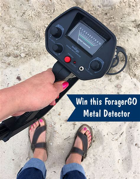Metal Detector Sweepstakes - win a foragergo metal detector from sweetiessweeps com