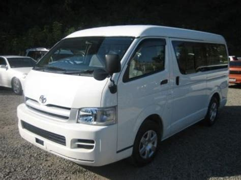 Toyota Hiace 2004 Model 2004 Toyota Hiace Pictures 2700cc Gasoline Automatic