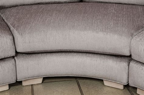 Sectional Sofa Parts Beautiful Curved Sectional Sofa In Three Parts At 1stdibs