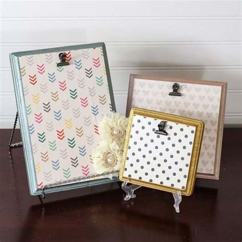 Simple Handmade Photo Frames - 31 cool and crafty diy picture frames diy projects for