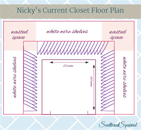 Average Size Of A Walk In Closet by Closets One Size Does Not Fit All Scattered Squirrel