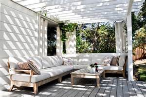 outdoor various style of the outdoor patio curtain ideas