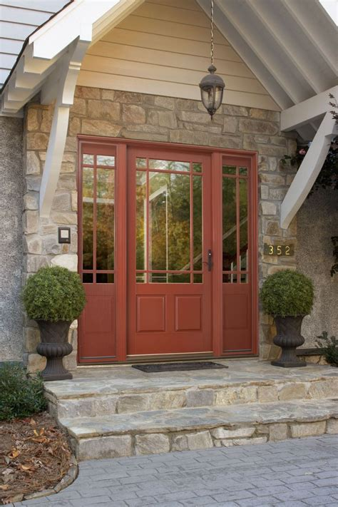 Ashworth R Entry Door With Venting Sidelites By Woodgrain Ashworth Patio Doors