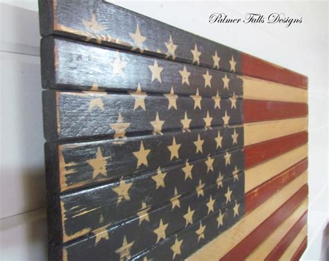 American Flag Wall Decor by Traditional Wood American Flag Patriotic Decor Flag