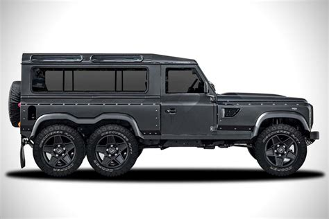 land rover defender 2017 6x6 land rover defender flying huntsman 6x6 concept