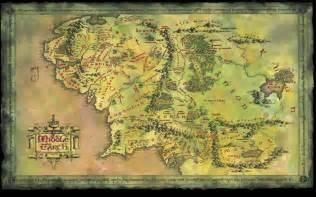 entire middle earth map mapas clim 225 ticos de la tierra media el se 241 or de los anillos vista al mar pe 241 237 scola