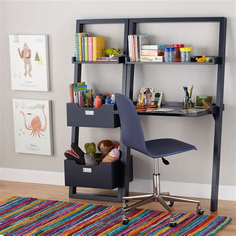 sloane leaning desk midnight blue  land  nod