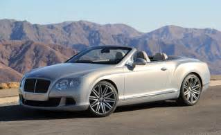 Convertible Bentley Price Car And Driver
