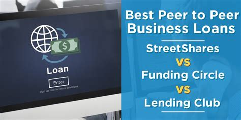 peer  peer business loans streetshares  funding circle  lending club