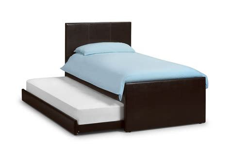 guest beds happy beds cosmo brown guest bed frame 3ft single quality