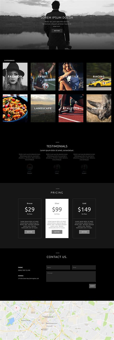 divi theme blog homepage download this free photography homepage divi layout pack