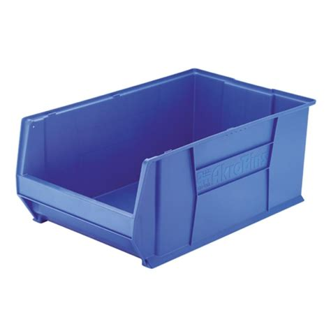 organization bins akro mils 30283b heavy duty stackable storage bins