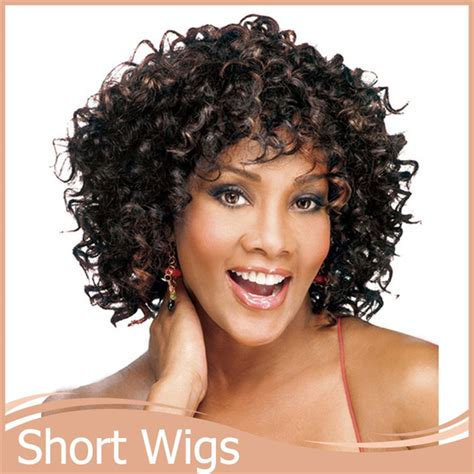 wigs for fat women 1pc afro kinky curly wig short wigs synthetic for african