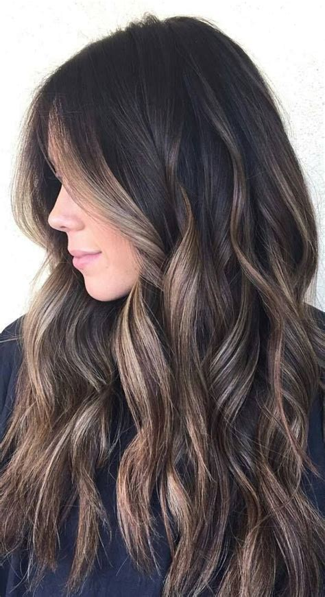 hair highlights for the spring with dark hair 35 gorgeous highlights for brightening up dark brown hair