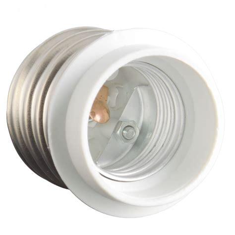E39 To E26 Base Led Light L Holder Bulb Adapter Pbt Led Light Holder