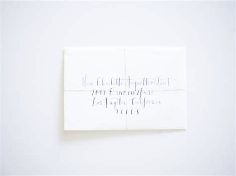 how to write envelope for wedding invitation white wedding invitations with blue calligraphy once wed