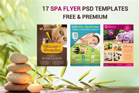 spa brochure templates free 17 spa flyer psd templates free premium designyep