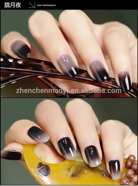color changing nail gel temperature change color uv gel nail gel