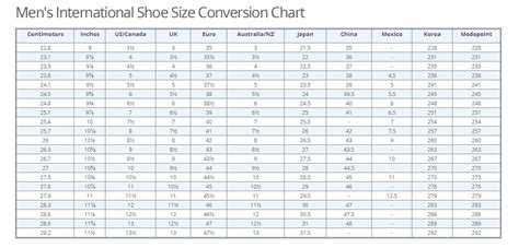 shoe size chart nz to uk us shoes sizing to nz style guru fashion glitz