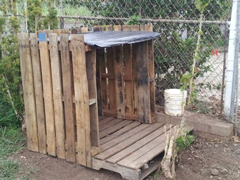 dog house made out of pallets diy dog house from pallets inthedoghouse pinterest