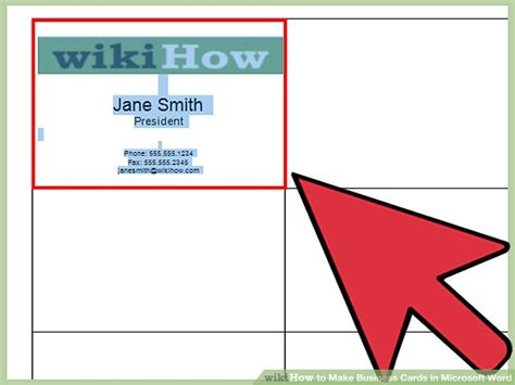 make business cards how to make business cards in microsoft word