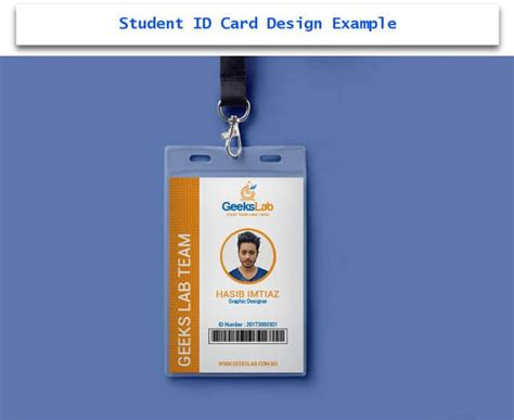 student id card template cdr 30 creative id card design exles with free