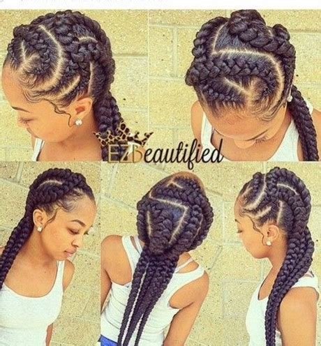 Braids Hairstyles For Black Without Weave by Braided Hairstyles
