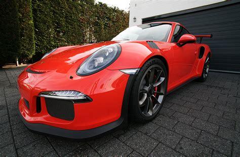 black porsche 911 gt3 porsche 991 gt3 rs orange