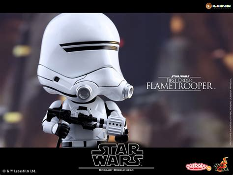 Hottoys Cosbaby Trooper Order toys cosb241 wars the awakens cosbaby bobble series 2 frist order