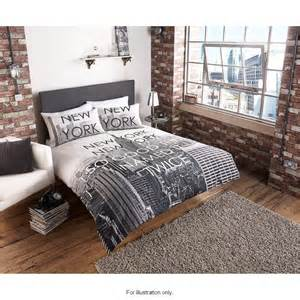 Cream King Size Duvet Cover Set B Amp M New York City Scene Double Duvet Set 2876531 B Amp M