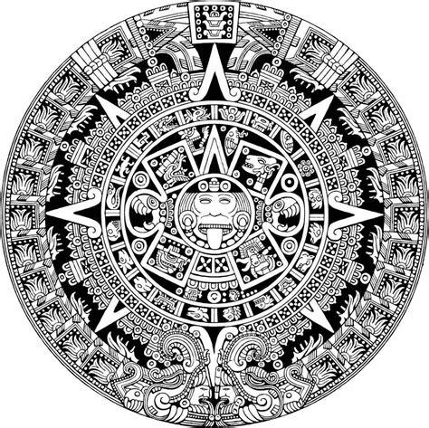 Imagenes Calendario Y Azteca Calendario Azteca Vectorizado Gratis Imagui
