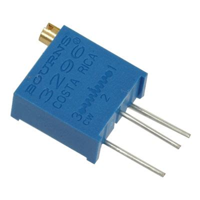 1k resistor direction 3296y 1 102lf bourns resistor trimmer 1k ohm 10 1 2 watt 25 turn 2 19mm pin through