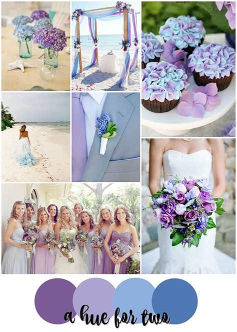 Wedding Colors by Blue And Purple Colour Scheme Wedding Ideas By Colour Chwv