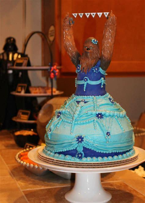 Year Old  Ee   S Ee   Pri Ess Chewbacca  Ee  Birthday Ee   Cake