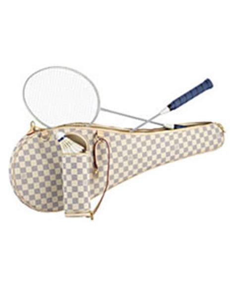 Louis Vuitton Louis Vuitton Damier Azur Badminton Set And Key Pouch by Louis Vuitton Damier Azur Badminton Set