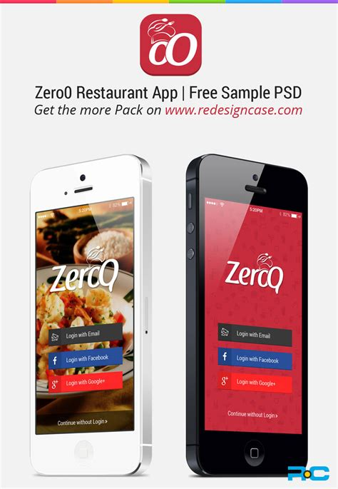 restaurant app template gallery templates design ideas