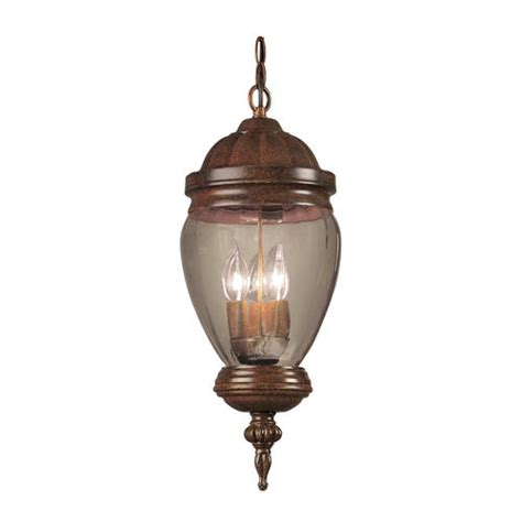Menards Pendant Lights Patriot Lighting 174 Mable 3 Light 21 75 Quot Antique Rust Outdoor Pendant
