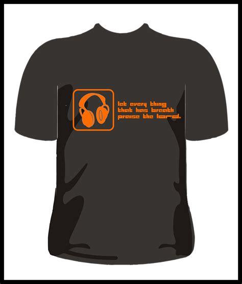 Tshirt Kaos U 02 desain baju kaos simple