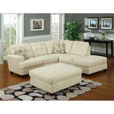 cream microfiber sectional o i wish i could afford this brahma pearl 2 pc sectional