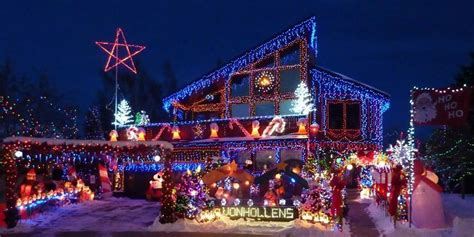 rocky mountain house lights rocky mountain house light display to shine for