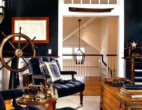 nautical office decor vacation home interior design captains quarters