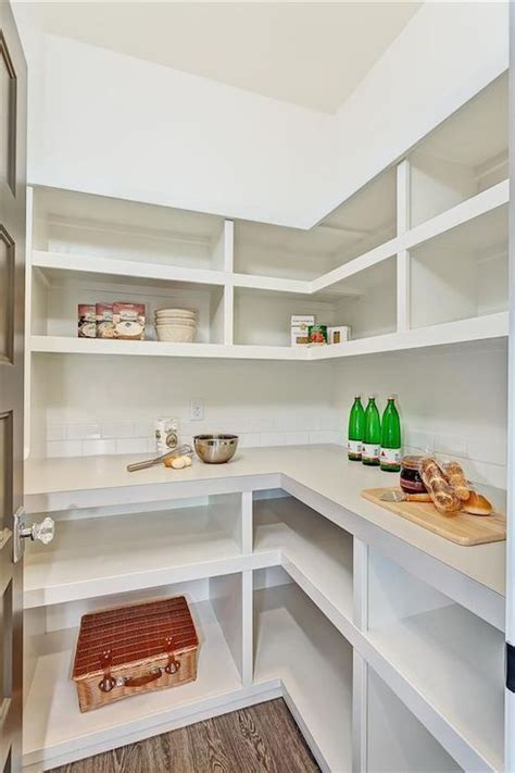 walk in pantry shelves transitional kitchen clark
