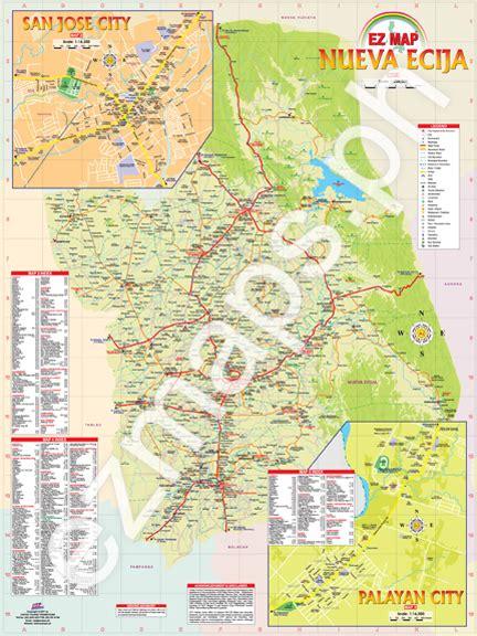 san jose nueva ecija map nueva ecija ez maps 174 the philippines