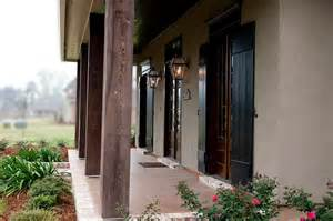 love the dark stained wood columns for the front of the house tamandfont house pinterest