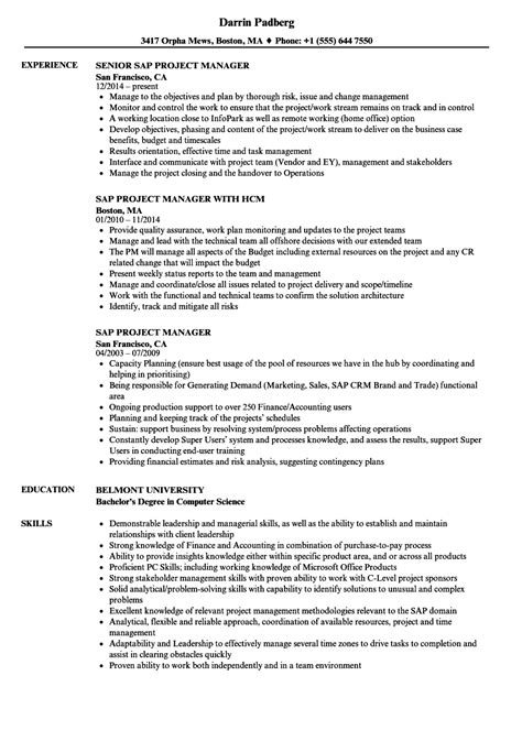 project manager sample resume amazing it service delivery manager
