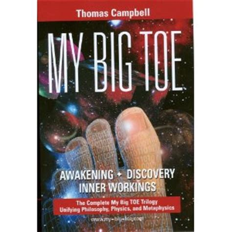 My To Toe Book my big toe trilogy entertaining read on nature of reality