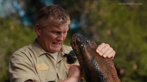 film anaconda thailand commercial during eaten alive on discovery channel wi