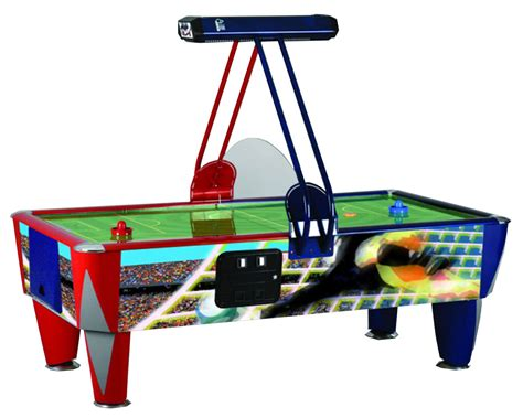 air hockey table length sam fast soccer commercial air hockey table 7 ft 8 ft