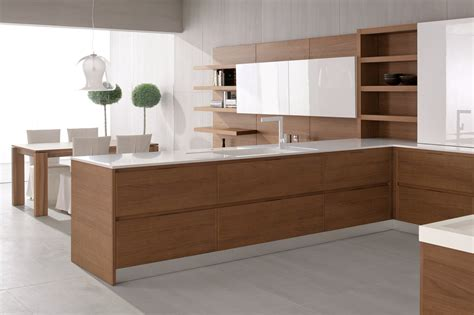 D G Kitchens by Lacquered Wood Veneer Kitchen Velvet Profile I By Ged