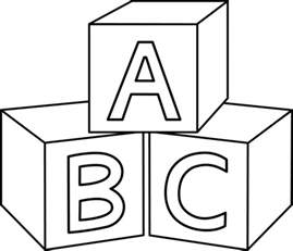 coloring pages of baby blocks search